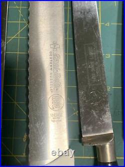 19 LOT Vintage Knives Premium Chef Sabatier Dexter Cutco Miyabi Swiss German etc