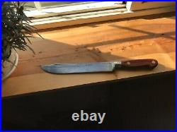 1930-40's Vintage 7.5 blade CASES TESTED XX Rare Carbon Chef's Butcher Knife
