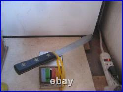 1930s Vintage 10 Blade GOLD STAR FOSTER Carbon Butcher Knife USA
