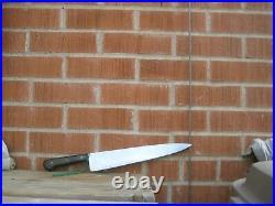 1930s Vintage 12 Blade ED. WUSTHOF Carbon Chef Knife GERMANY
