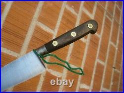1950s Vintage 8 Blade SABATIER K Acier Forged Carbon Chef Knife FRANCE