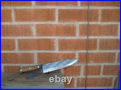 1960s Vintage 8 Blade CASE XX 400-8 Fine Nice Carbon Chef Knife USA
