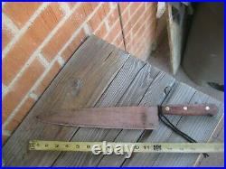 1970s Vintage 12 Blade LAMSON & GOODNOW Fine 3XL Carbon Chef Knife USA
