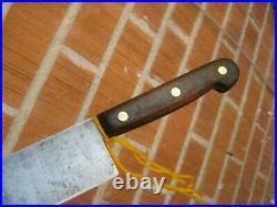 1970s Vintage 14 Blade LAMSON & GOODNOW Huge Carbon Chef Knife USA