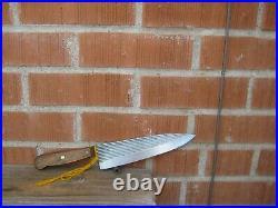 1970s Vintage 8 Blade CASE XX 400-8 Fine Carbon Chef Knife USA