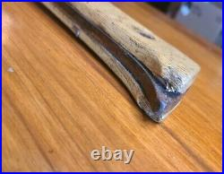 31-Inch L. J. White Cleaver c. 1837 Hog Splitter MASSIVE 14-Inch Blade