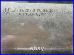 4 Vintage J. A. Henckels Twin Works carbon 1 is Grand Prize Worlds Fair 1904
