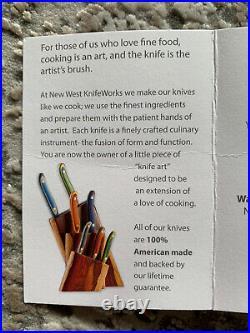 9 Chef Knife New West KnifeWorks