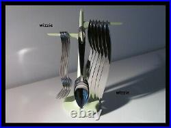ALESSI Faitoo Mangetoo Cutlery with Tree / Philippe Starck