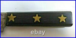 Antique 15 Foster Bros Jaeger Gold Star Butcher Knife USA Carbon Steel