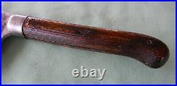 Antique 1886 Samuel Lee Butcher Meat Cleaver Splitter 10 Blade 18 Long