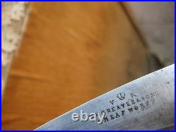 Antique 2 3/4 Blade GREAVES & SONS Sheffield Carbon Paring Knife ENGLAND