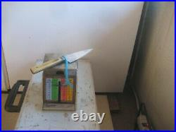 Antique 3 Blade W. G. TARLETO Sheffield Carbon Lady Paring Knife ENGLAND