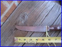 Antique 5 1/4 Blade STAR Goodell Company Carbon Boning Utility Knife USA