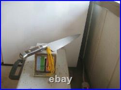 Antique 9 Blade SABATIER K Acier Bolstered Large Carbon Chef Knife FRANCE