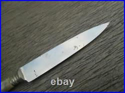 Antique CARL SCHLIEPER Eye Brand Germany Chef's Ornate Carbon Steel Paring Knife