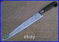 Antique Civil War-Era RUSSELL Green River Works Sabatier-style Chef/Cook's Knife