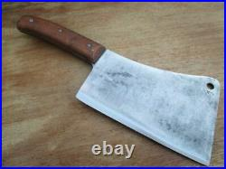 Antique F. DICK Germany Butcher/Chef Carbon Steel Meat Cleaver Knife RAZOR KEEN