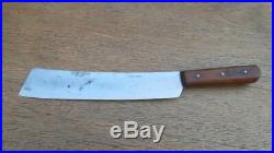 Antique Foster Bros. Chef or Butcher's Rib Splitter Cleaver Knife RAZOR SHARP