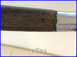 Antique French PRE-SABATIER Carbon Steel 11 3/4 Blade Chef Knife