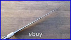 Antique GREGORY Sheffield Carbon Steel Chef Knife withBeehive Logo RAZOR SHARP