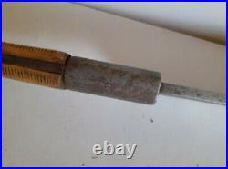 Antique HUGE F-Dick Meat Cleaver Hog Splitter No. 108, 13 3/8 Blade, 32 Long