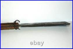 Antique HUGE F-Dick Meat Cleaver Hog Splitter No. 42 10 Blade 24 1/2 Long