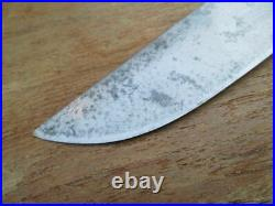Antique Heinrich Nax Germany French-style Carbon Steel Butcher Knife SHARP