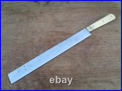 Antique KRAUT & DOHNAL Chicago XL Kosher Shochet Butcher Knife RAZOR SHARP