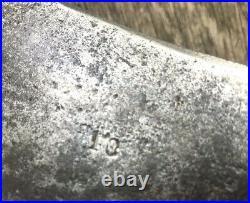 Antique L. &I. J. White Butcher Meat Cleaver 10 Blade 20+ Long 7 lb. Axe Chop NR