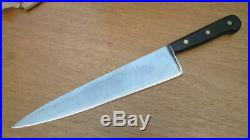 Antique LANDERS FRARY & CLARK Hand-forged Carbon Steel Chef Knife in A+++ Cond