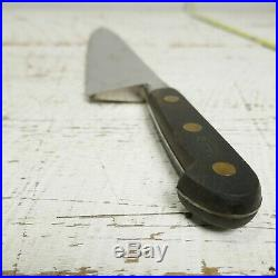 Antique Sabatier LA TROMPETTE France Carbon Steel Chef Knife RAZOR SHARP vtg 17