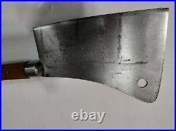 Antique Samuel Lee LF & C Pat May 25, 1886 Knives & Steels 8 meat cleaver