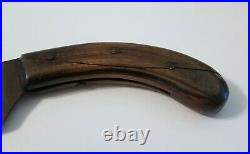 Beautiful, Large, Vintage, Beatty Edge Butcher's Cleaver Knife