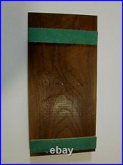E. Warther & Sons Dover Ohio 8 Steak Knife Wall Set In Original Box Read Desc