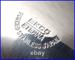 Ekco Eterna 82 pcs CANOE MUFFIN MCM Stainless Vintage Flatware Service
