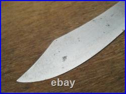 FINE Antique 1868 GOODELL ROYAL SLICER Chef's Knife withInlaid Star & Acorn Handle