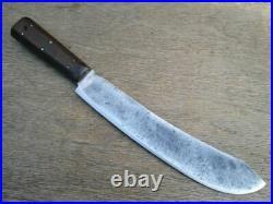 FINE Antique NICHOLS BROS. Buffalo Skinner/ Lamb Splitter Butcher Breaking Knife