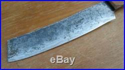 FINE Antique Swedish Chef/Butcher's XL Rib Splitter Cleaver Knife VERY SHARP