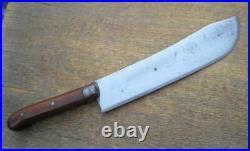 FINE Old Foster Bros. Bolstered Carbon Steel Buffalo Skinner/Lamb Splitter Knife