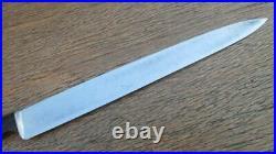 FINE Vintage Customized WUSTHOF Chef's Carbon Steel Slicing Knife RAZOR SHARP