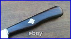 FINE Vintage HERDER Chef's Slicing/Carving Knife withInlaid Spade Logo in A+ Cond