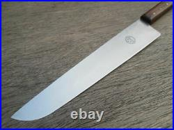 FINE Vintage HERDER Constant Solingen, Germany Customized Stainless Chef Knife