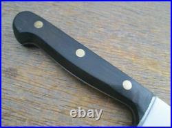 FINE Vintage Harold Leonard/Tarpona Germany Carbon Steel Chef Knife -RAZOR SHARP