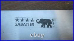 FINE Vintage Sabatier Chef/Butcher's Swiss-Style Meat Cleaver Knife VERY SHARP