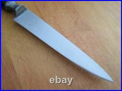 FINEST Antique BROSSARD France Chef's Carbon Steel Paring Knife RAZOR SHARP