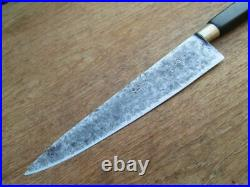 FINEST Antique GUYOT FRERES French Sabatier Carbon Steel Chef Knife RAZOR KEEN