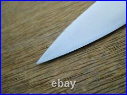 FINEST Antique Sabatier Carbon Steel Chef Knife withIron Bolsters in A+ Conditon
