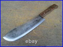 FINEST Custom Vintage DASCO Buffalo Skinner/ Lamb Splitter Butcher Knife WOW