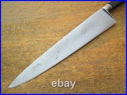 FINEST Lg Antique WESTPHAL Sabatier French Carbon Steel Chef Knife RAZOR SHARP